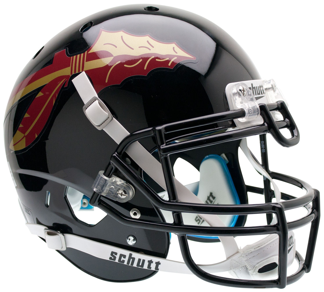 Florida State Seminoles Authentic Schutt XP Full Size Helmet - Black