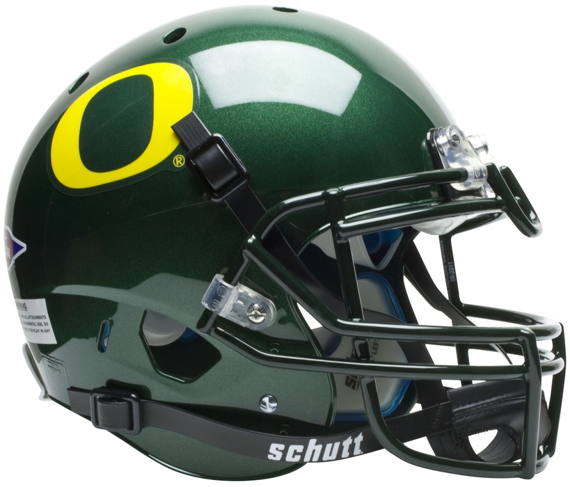 Oregon Ducks Authentic Schutt XP Full Size Helmet