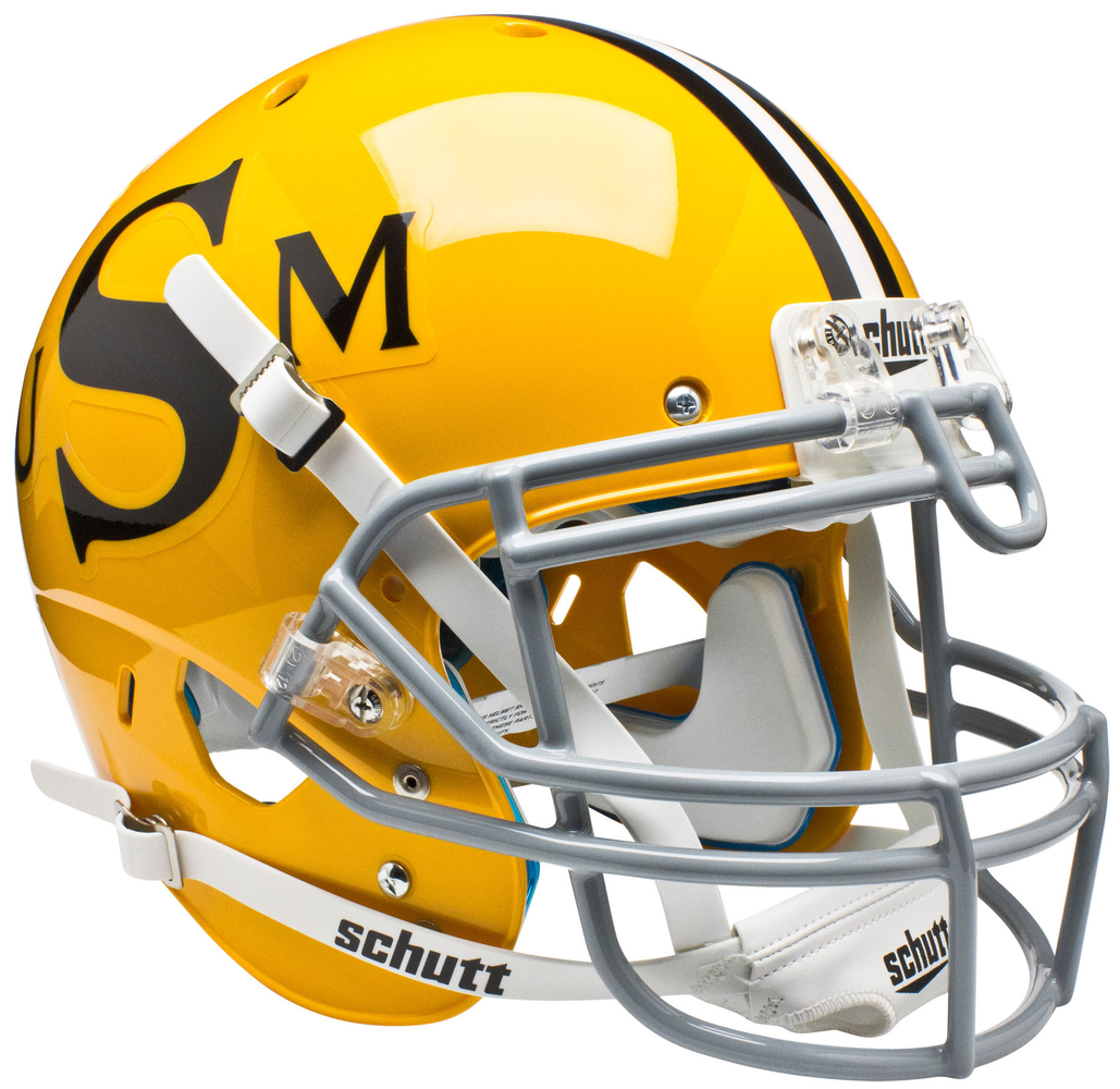 Southern Mississippi Golden Eagles Authentic Schutt XP Full Size Helmet - Gold