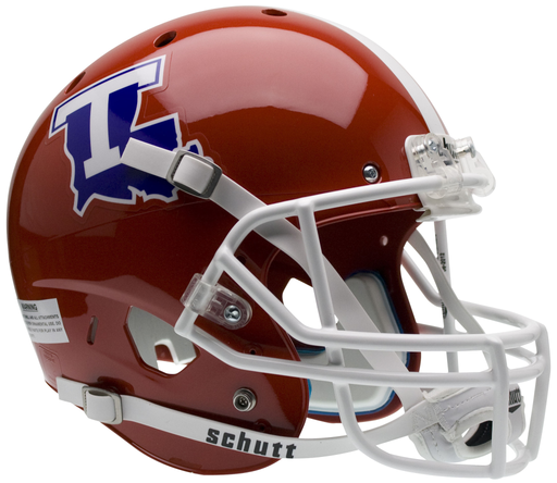 Louisiana Tech Bulldogs Replica Schutt XP Full Size Helmet