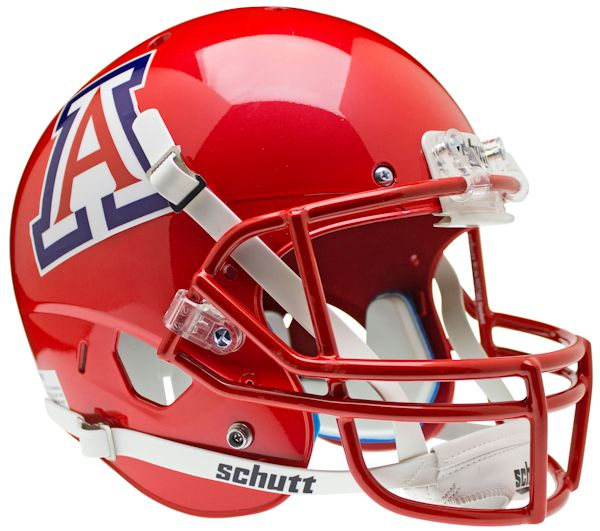 Arizona Wildcats Replica Schutt XP Full Size Helmet - Scarlet