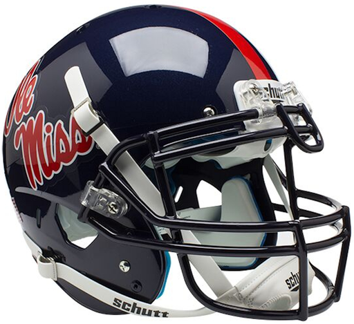 Mississippi (Ole Miss) Rebels Authentic Schutt XP Full Size Helmet
