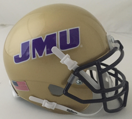 James Madison Dukes Schutt XP Mini Helmet