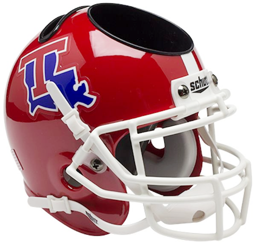 Louisiana Tech Bulldogs Mini Helmet Desk Caddy