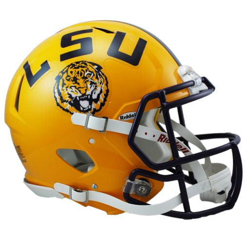 LSU Tigers Authentic Full Size Speed Helmet