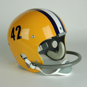 LSU Tigers 1957 Jim Taylor Full Size Throwback Helmet
