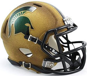 Michigan State Spartans Riddell Mini Speed Helmet - 2011 Special