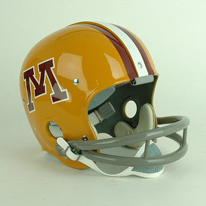Minnesota Golden Gophers 1968 to 1971 Full Size Throwback Helmet