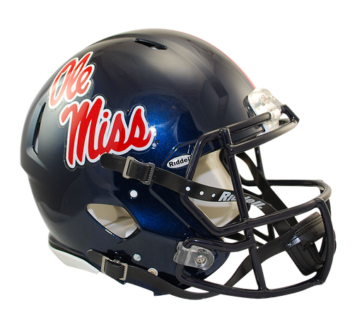 Mississippi (Ole Miss) Rebels Authentic Full Size Speed Helmet