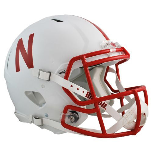 Nebraska Cornhuskers Authentic Full Size Speed Helmet