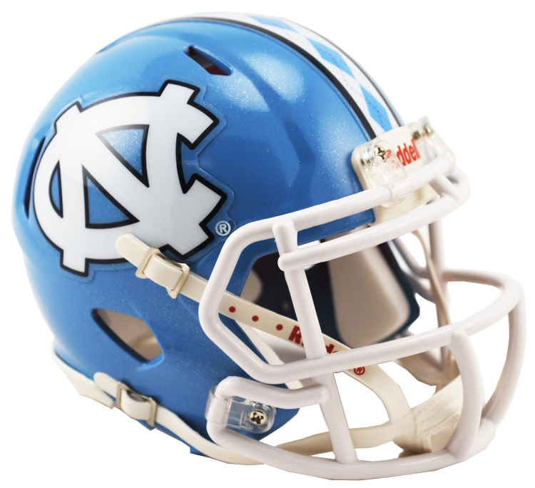 North Carolina Tar Heels Riddell Mini Speed Helmet - 2015