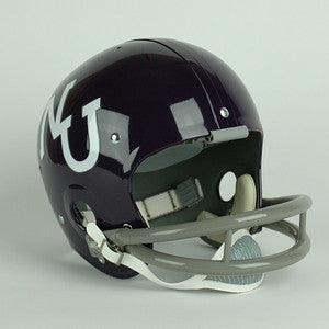 Northwestern Wildcats 1968 to 1974 Full Size Throwback Helmet
