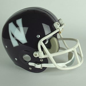 Northwestern Wildcats 1981 to 1992 Full Size Throwback Helmet