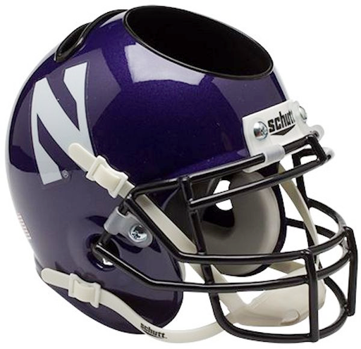 Northwestern Wildcats Mini Helmet Desk Caddy