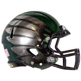 Oregon Ducks Authentic Full Size Speed Helmet - Titanium Thunder