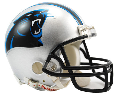 Carolina Panthers Riddell VSR4 Mini Helmet