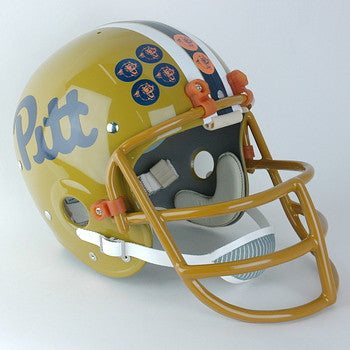 Pittsburgh Panthers 1980 to 1989 Full Size Throwback Helmet