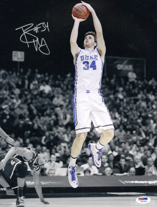 Ryan Kelly Autographed Duke Blue Devils 11x14 Photo - PSA