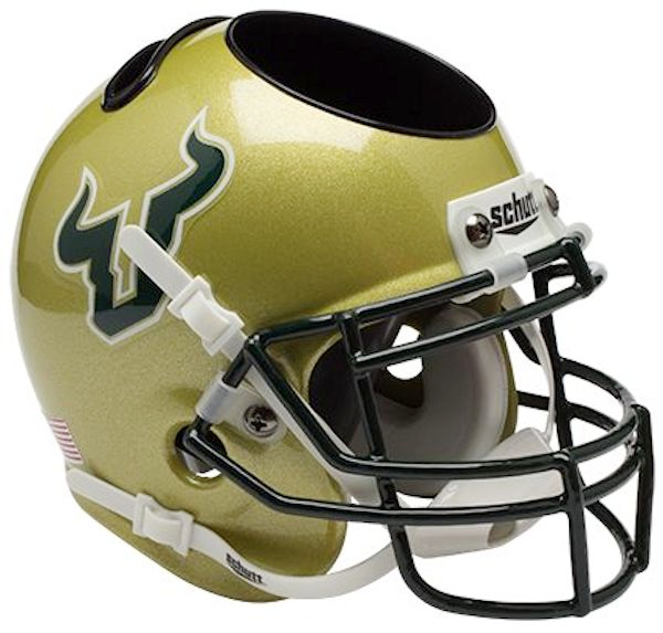 South Florida Bulls Mini Helmet Desk Caddy