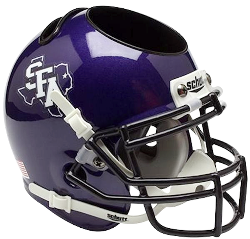 Stephen F Austin Lumberjacks Mini Helmet Desk Caddy