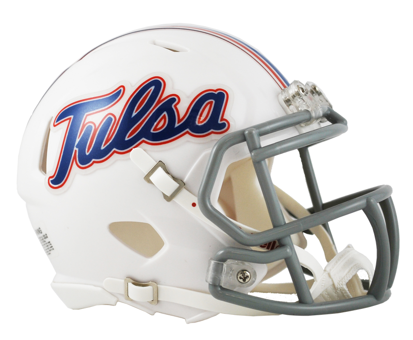 Tulsa Golden Hurricane Riddell Mini Speed Helmet