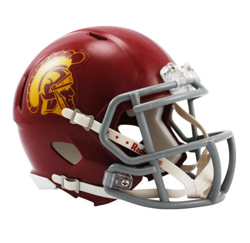 USC Trojans Riddell Mini Speed Helmet