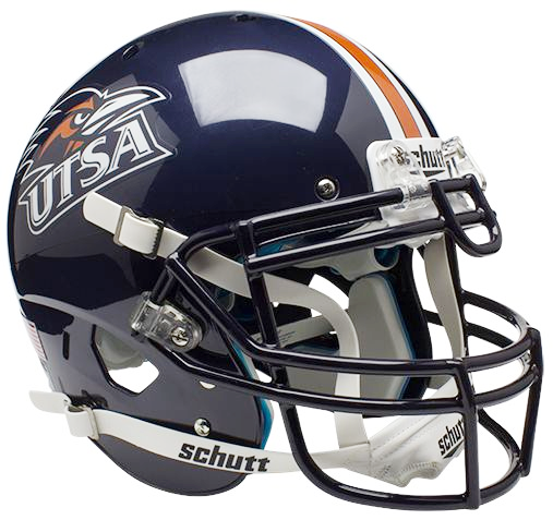 UTSA Roadrunners Authentic Schutt XP Full Size Helmet