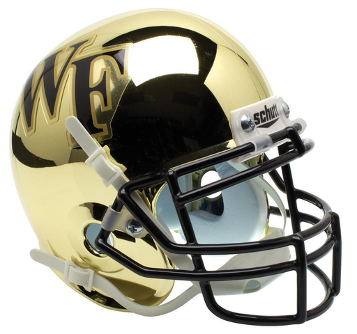Wake Forest Demon Deacons Schutt XP Mini Helmet - Chrome