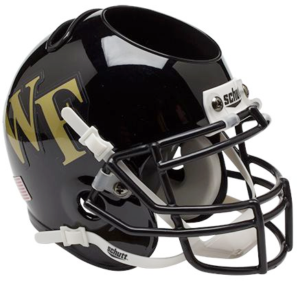 Wake Forest Demon Deacons Mini Helmet Desk Caddy