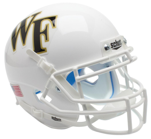 Wake Forest Demon Deacons Schutt XP Mini Helmet - White