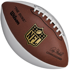 Wilson NFL White Panel Autograph Football - 3 White Panels