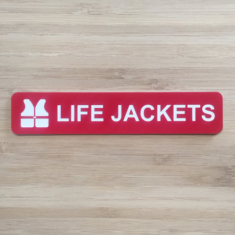 Lifejacket Sign