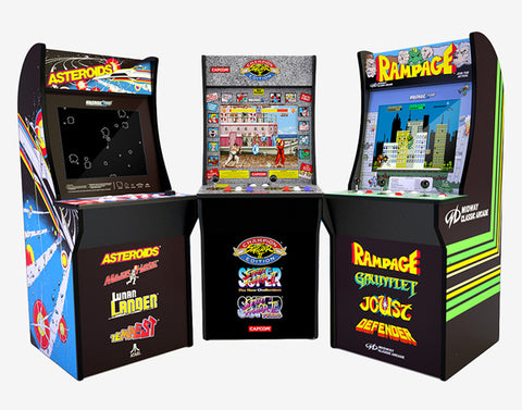 Arcade1up Retro Game Cabinets