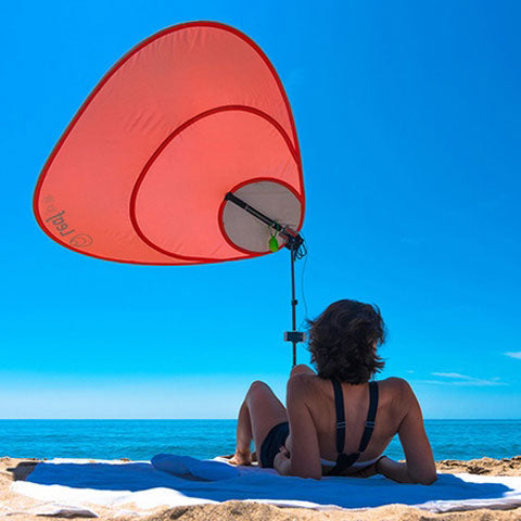 Leaf for Life Nomad Solar Beach Umbrella