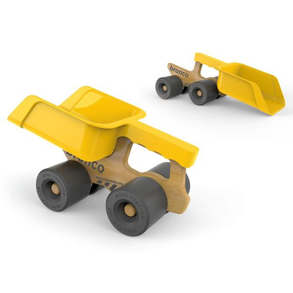 Buy Bronco Shovel Truck and other gifts online - The Fowndry