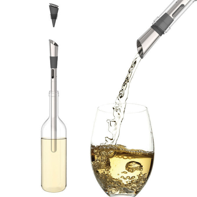 HOST Deluxe Wine Cooling Pour Spout - Only £29.99 at TheFowndry.com