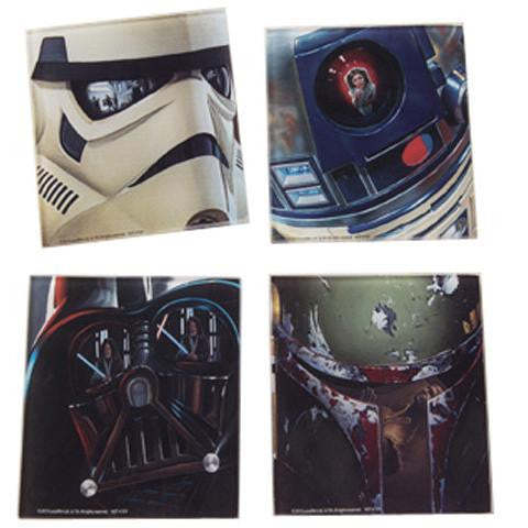Buy Star Wars Glass Coaster Set and other gifts online - The Fowndry