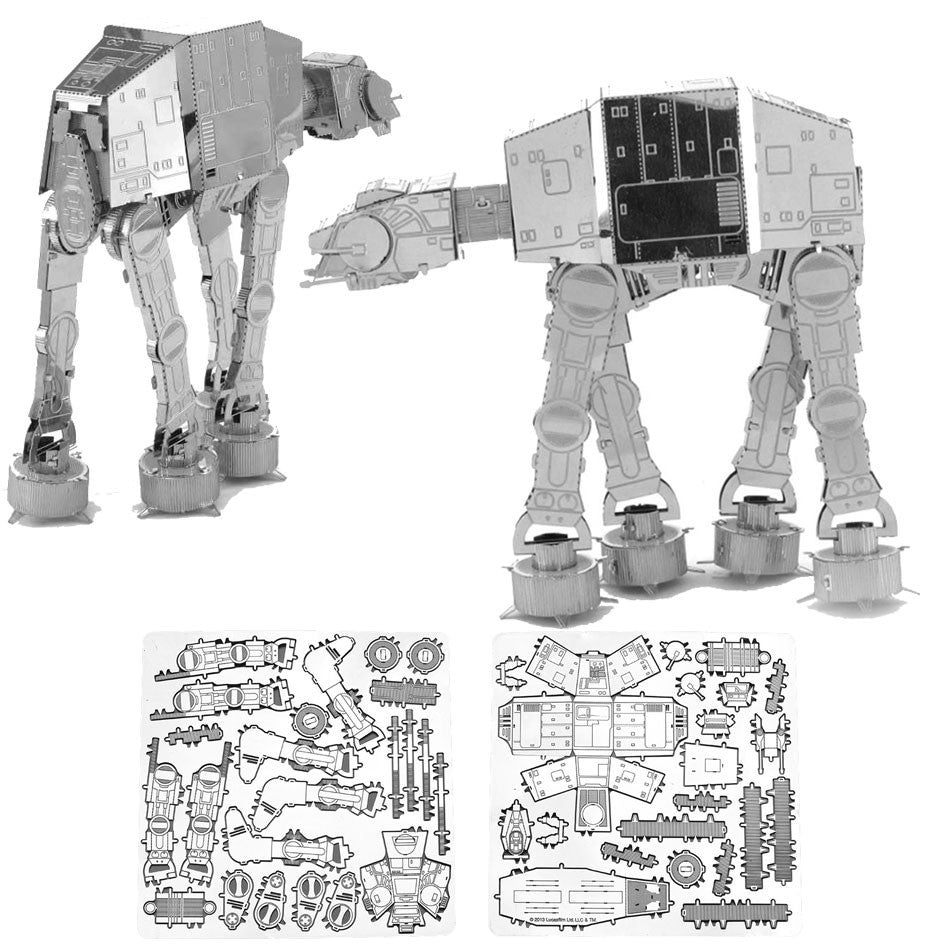 Star Wars Miniature Metal Kits - AT-AT