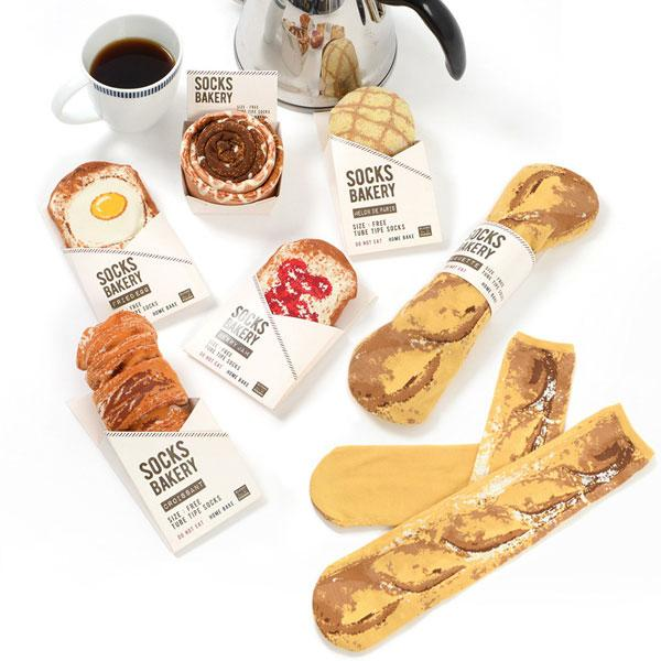 Buy Breakfast Socks and other gifts online - The Fowndry