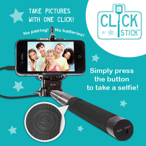 Buy 'Selfie' Click Stick and other gifts online - The Fowndry