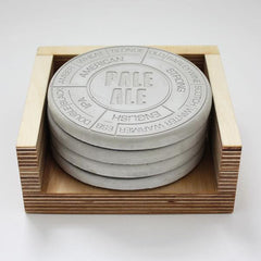 Concrete Beer Coasters