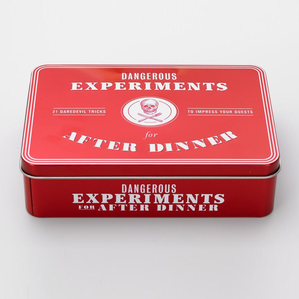 Dangerous Experiments For After Dinner - 21 Daredevil Tricks to Impress Your Guests Game - Buy at The Fowndry