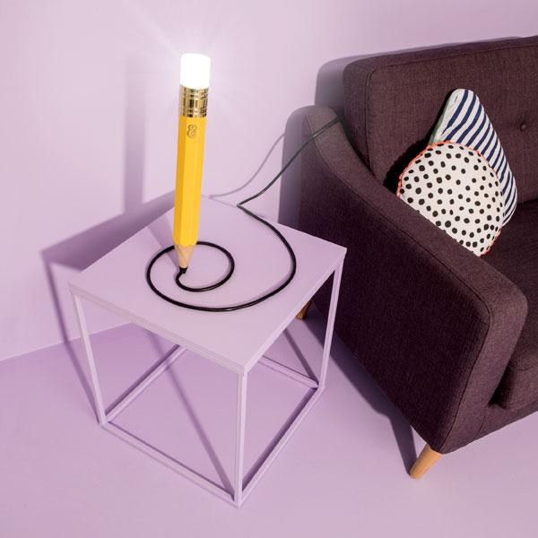Buy Drew The Pencil Lamp and other gifts online - The Fowndry