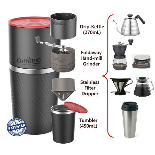 Cafflano Klassic Portable Coffee Maker Review : Cafflano Klassic All-In-One Coffee Maker - buy at The Fowndry