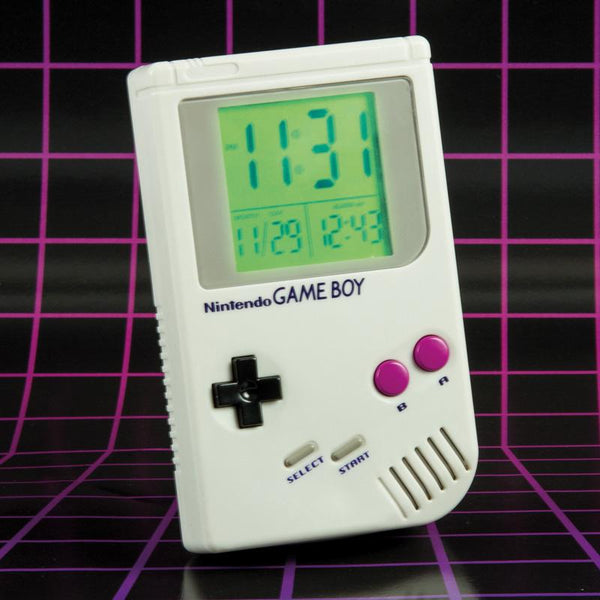 Buy Nintendo Game Boy Alarm Clock and other gifts online - The Fowndry