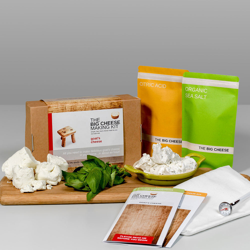The Big Cheese Making Kit - Only £21.99 at www.thefowndry.com