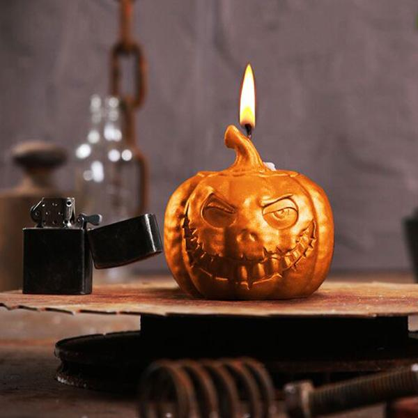 Pumpkin Candle - Buy at The Fowndry