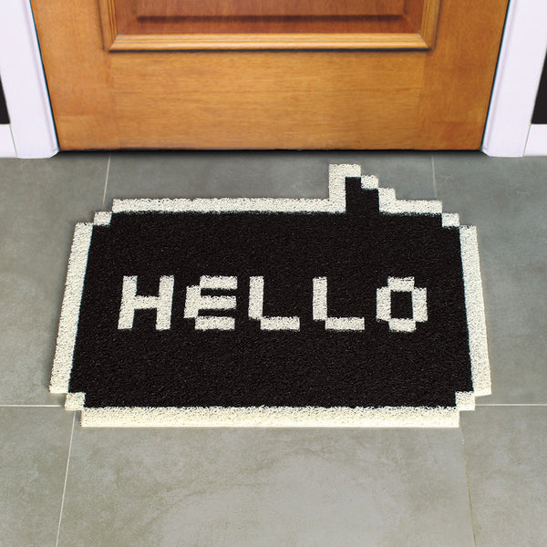 Buy Hello Pixel Doormat and other gifts online - The Fowndry