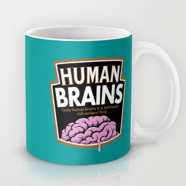 Buy Human Brains Mug and other gifts online - The Fowndry