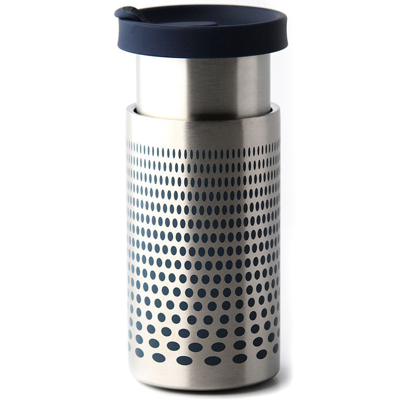 Impress Coffee Brewer Travel Coffee Flask - Silver